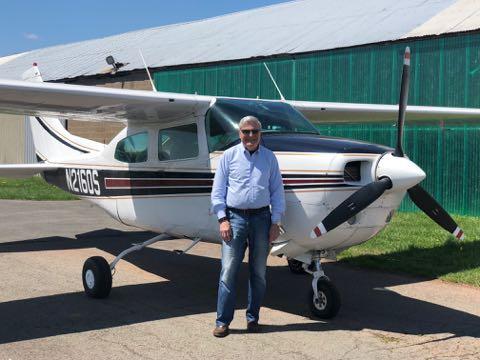 Aircraft: N2160S C210L   Around The World Again 3